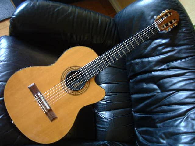 guitare acoustique corde nylon
